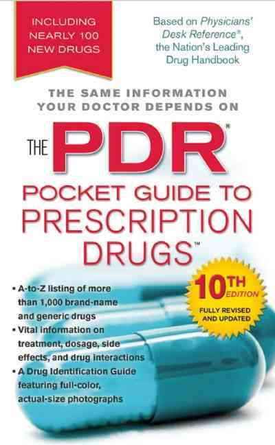 The Pdr Pocket Guide to Prescription Drugs By PDR Staff (COR)